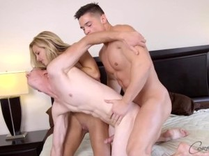 Corbin Fisher BI - Colt Pounds Jon And Brittany In A Bi Sex Threesome