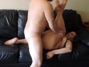 Pumping My Wet Pussy Full Of Cum