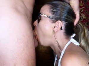 She Sucks And I Cum By Surprise In Her Mouth - Short Version