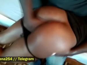 Nairobi Prostitute Spanked & Fingered At The Mansion