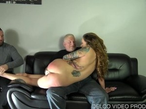 Cucking And Ex Boyfriend With Spanking Fun