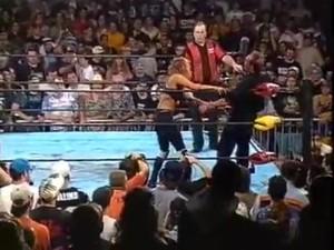 ECW Man Vs Woman Hardcore Match