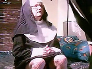 My Super Horny Wifey Likes Dressing Up Like Nun For Sex