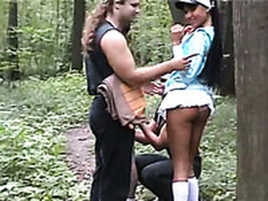 A Picnic In The Woods Inevitably Turns Into A Wild Group Sex