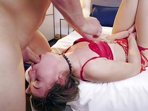 Redhead Bitch Likes Being Fucked Hard And Rough By Freak