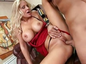 Alluring Bitch Julia Ann Gets Banged Just The Way She Always Liked It