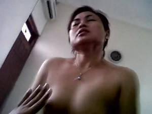 Indonesian Milf Kartika Sari Having An Orgasmic Ride