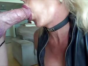 Slut Leather Shemale Meet Daddy Big Dick