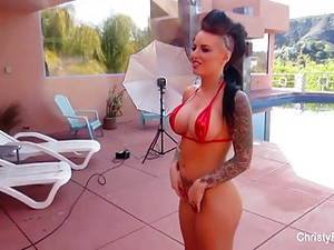 Behind The Scenes With Christy Mack