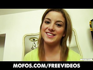 Mofos - Cute Natural GF Katie King Masturbates With Her Toys
