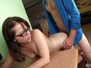 Naughty Teen Screams Horny