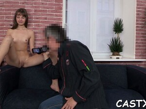 Lascivious Brunette Maid Sofie Carter Get Fucked In Mouth