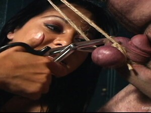 Brutal And Painful Penis Torture By Ebony Chick Sandra Romain