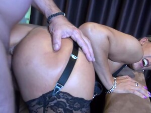 Big Titted, German Mature Likes To Feel A Rock Hard Dick Inside Her Tight Ass