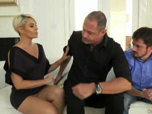 Nasty Wife Helena Locke Gets Fucked Under Her Husband's Nose