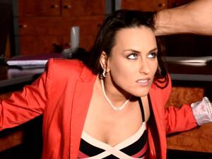 Tied Up Office Slut Is Finger Fucked By Hot Tempered Boss