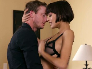 Hot Blooded Lover Fucks Short Haired Brunette Janice Griffith In Different Positions