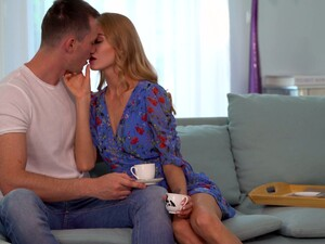 Boyfriend's Thick Dick Is Everything Lustful Blonde Nancy A Desires Every Day