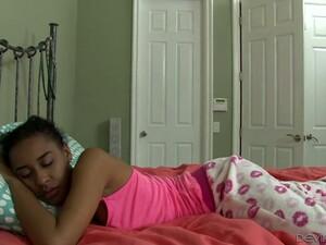 Sleeping Ebony Chick Jazzy Jamison Gets Fucked