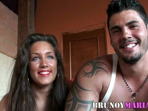 The First Porn Of This Spanish Couple