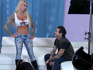 Punk Porn Behind The Scenes With Hot Tattooed Chicks