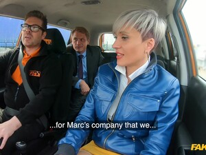 Short Hair Tanya Virago Fucked By The Driving Instructor In The Car