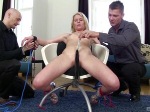 Claudia Macc Enjoys Being Tied Up To A Chair And Fucked By Her Hubby