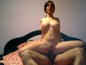 Busty Romanian Rides Dick And Gets A Facial