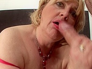 Kinky Granny Having Her Way With A Hard Young Dick