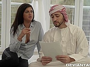 Coco De Mal Is Fucking Her Teacher Better Than His Wife Does, After Sucking His Cock