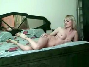 Blonde Russian In Shoes Stripping