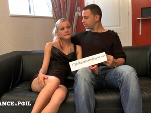 La France A Poil - Sexy Small Titted Young Blonde Came