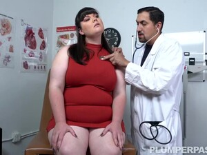 Charlotte Hurtz Is A Fat Brunette Who Likes To Get Naked And Have Sex With A Doctor