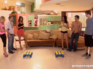 A Group Sex Session With Lots Of Sex Games