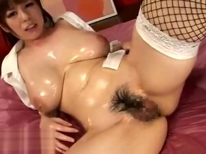 Japanese Huge Boobs Gf Oiled Tits Fuck