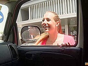 Kyra Hot Is A Smashing Babe Who Likes To Have Sex In The Back Of A Car