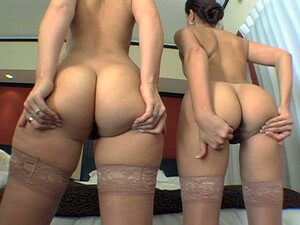 Extremely Seductive Maids Showing Off Their Well-shaped Asses