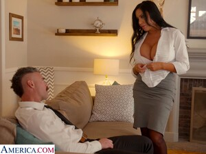 Whore Wife With King Size Boobs Sybil Stallone Is Cheating On Her Husband With His Boss