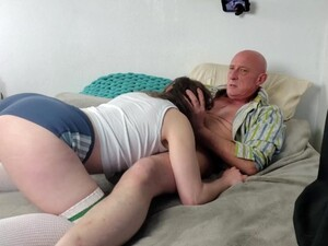 Teen Loves Being Strangled And Hard Fucked In Her Mouth