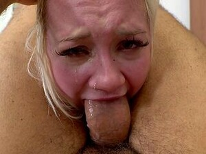Gagged Teen Brutally Fucked In Both Holes
