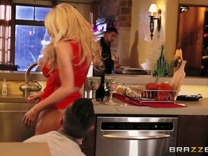 Cheating Blonde Wife Kayla Kayden Fucked By Her Gifted Lover
