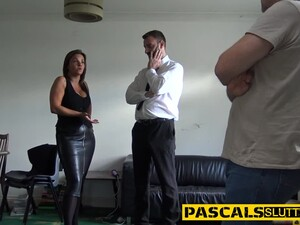 Busty Bdsm Slut Throating And Riding