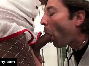 Nurse Ladyboy Gets Hard For The Doctor