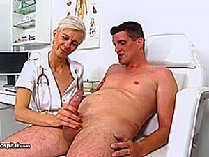 Lusty Doctor Is Having Tons Of Fun With Horny Patients And She Always Makes Them Cum
