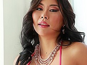 Asian Floozy, Honey Moon Cant Stop Moaning While Her Lover Is Banging Her From The Back