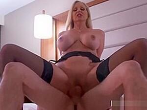 Sexy Mature Milf Julia Ann Seduces Timid College Guy