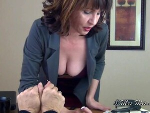 About Your New No Smoking Policy - Mrs Mischief Milf Smoking Bondage Pov