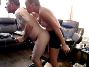 Amateur Couple - Pegging Workout!  Riding My Strap On!
