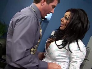 Busty Woman Is One Of The Most Fuckable Office Ladies Around, Who Also Likes To Eat Cum