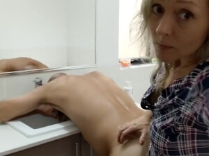 Eating, Rimming Amp Pegging His Ass In The Bathroom So I Can Eat His Hot Cum - MIN MOO
